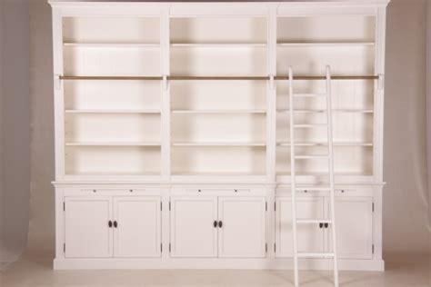 bücherschrank günstig bibliothek wei 223 im landhaus stil m 246 bel wohnpalast m 246 bel