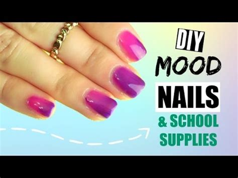 diy color changing nail diy color changing nail notebooks and pens