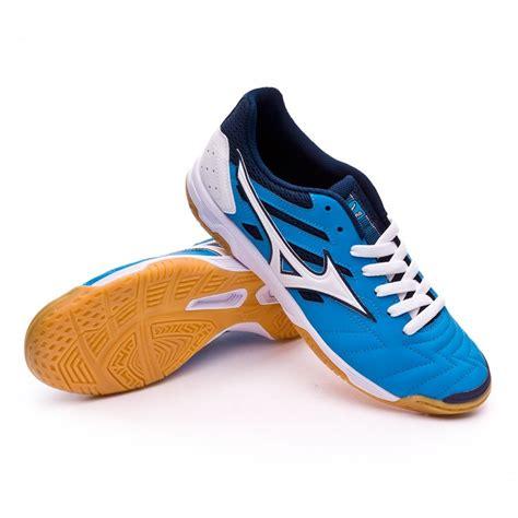 Mizuno Futsal New futsal boot mizuno classic 2 in blue white football
