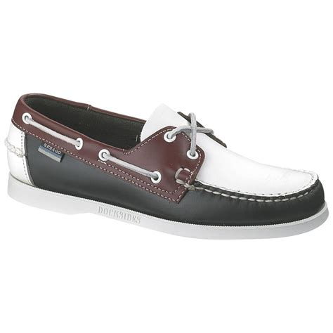 s sebago 174 spinnaker shoes navy
