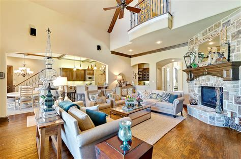 two story living room 2000 estes park southlake gem with two story family room