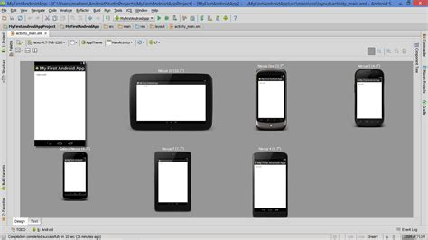 android layout outside screen previewing app layout on various devices and screen sizes