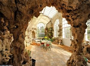 Octagon Homes Interiors 18th Century Norfolk Mansion Complete With Its Own Cave