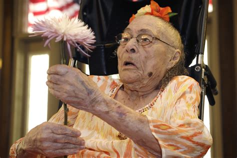 how is the world s oldest world s oldest person dies days after gaining title new york post