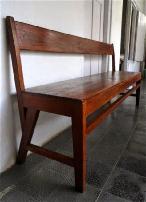 Kursi Kayu Tinggi purwokerto antik kursi panjang kayu jati sold