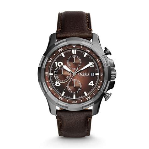 Fossil Dean Fs4788 Jam Tangan Pria jual jam tangan fossil fs 5113 dean chronograph brown