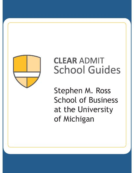 Ross Mba Housing Guide by School Guide Ross School Of Business