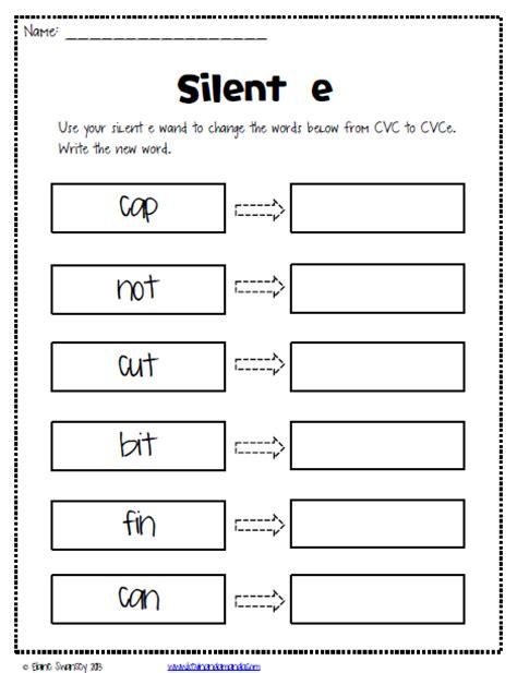 I E Worksheets by In Silent E Magic E Sneaky E