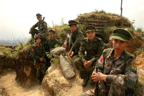 What Does Kia In The Army Burma Myanmar 2 Burmese Army Officers Killed In Clashes