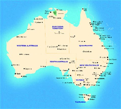 australia map cities record contracts