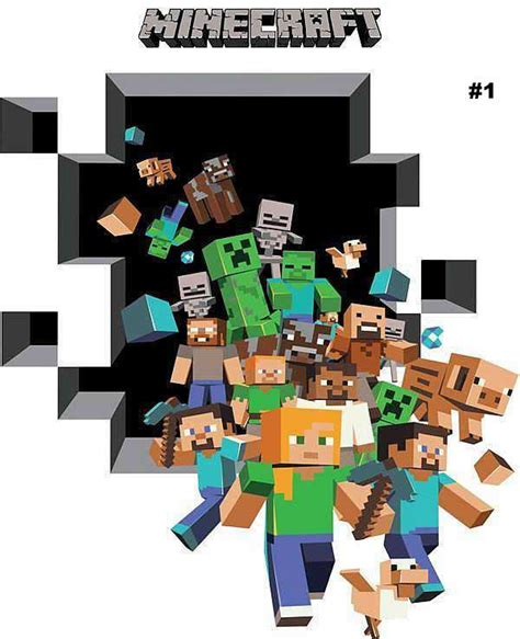 minecraft stickers for walls minecraft stuffs everything is awesome