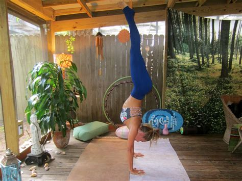 yoga tutorial at home yoga tutorial how to do a handstand the journey junkie