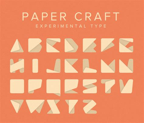 Types Of Craft Paper - papercraft type yee designer web developer author