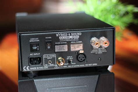 wyredsound sx  monoblock power amplifier