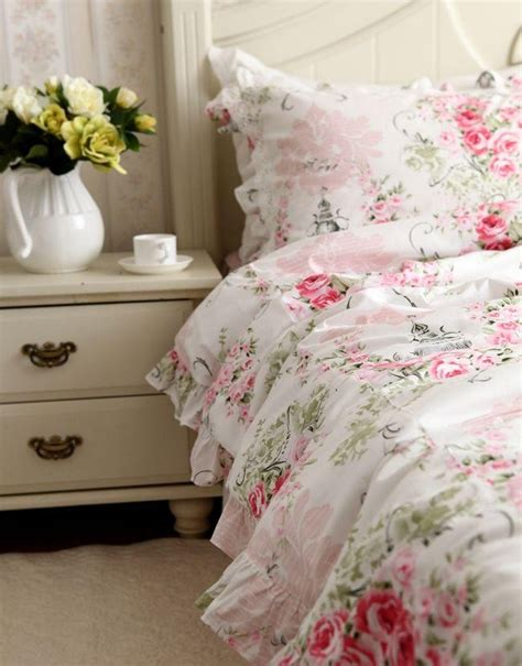 victorian comforter sets pink rose bedding set