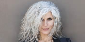 with gray hair granny hair vogue women embrace trend by going many