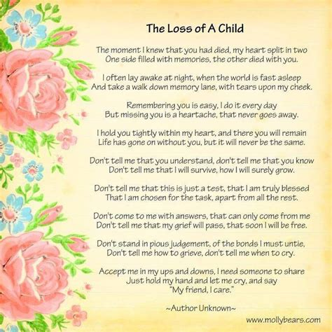 comfort for loss of a child best 25 losing a child quotes ideas on pinterest losing