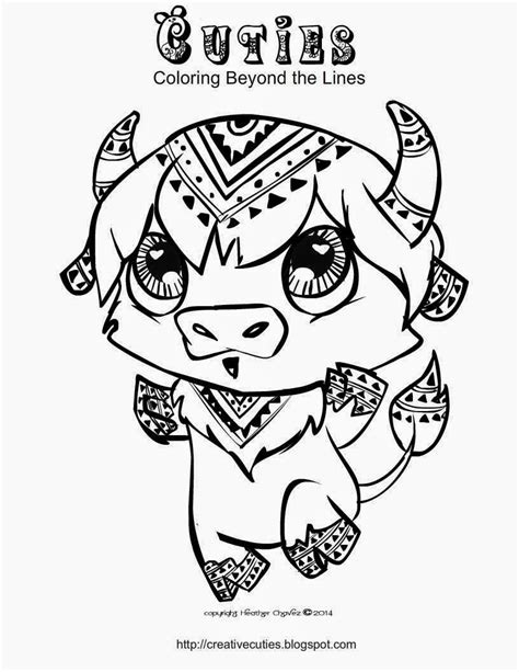 Creative Cuties Coloringpages Cuties