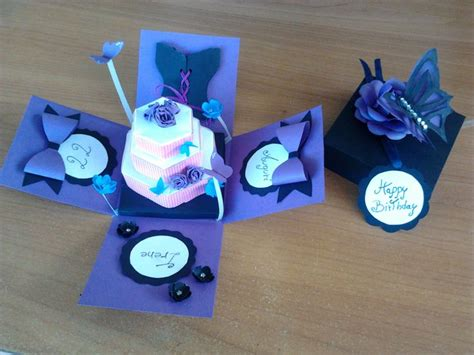Paper Craft Gift - pin by safihya on handmade