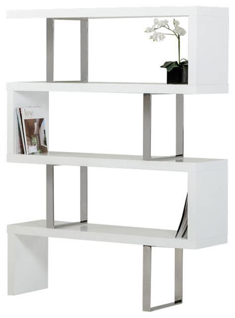 White Modern Bookshelves Bookcases Ideas Modern White Bookcases Bookshelves