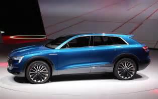 Audi Electric Cars 2018 Audi E Quattro Concept Previews Electric Suv Coming