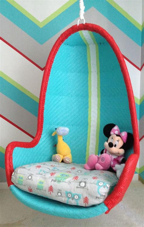 hanging swing chair for kids bedroom hello wonderful 10 awesome hanging chairs for kids
