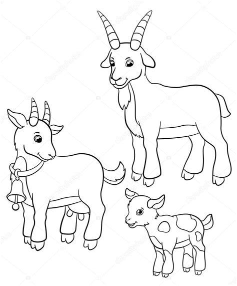 imagenes de la familia de animales dibujos para colorear animales de granja familia de la