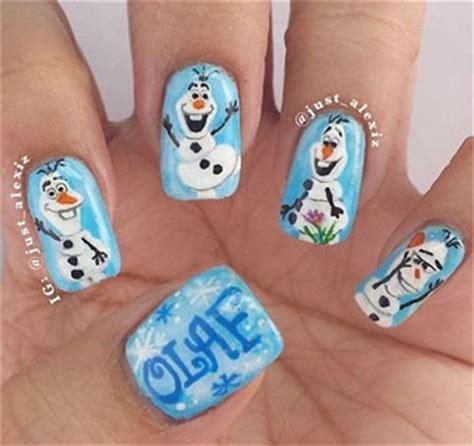 nail art olaf tutorial 15 disney frozen olaf nail art designs ideas trends