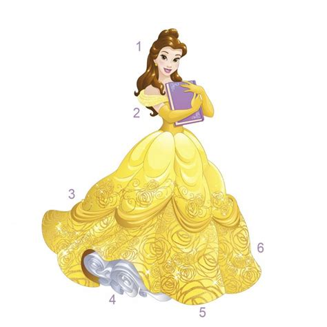The Princess princess wall sticker great kidsbedrooms the children bedroom specialist
