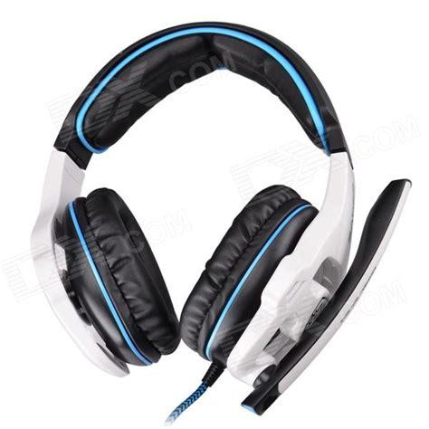 Headset Gaming Sades Sa 903 sades sa 903 usb 2 0 gaming headphones w microphone black white free shipping dealextreme