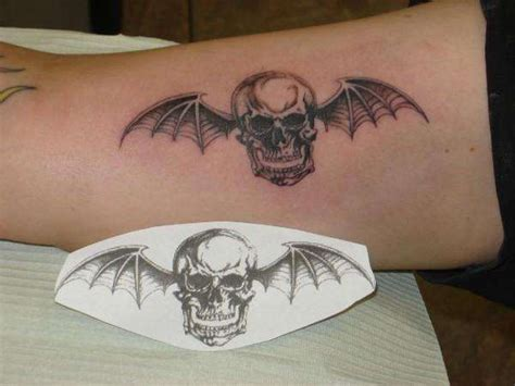 deathbat tattoo designs 25 best ideas about avenged sevenfold on