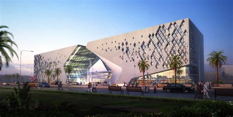 Architectural House Styles by Public Religious Basra Cultural Center