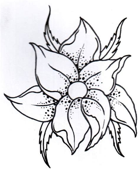 tattoo flower outline 17 best ideas about flower outline tattoo on pinterest