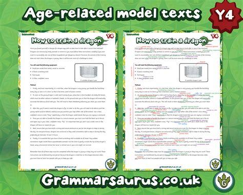 new year information ks2 new year 4 model text grammarsaurus