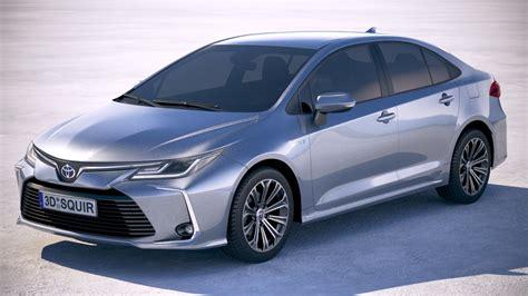 Toyota Models 2020 by Toyota Corolla 2020 3d Model Turbosquid 1373280
