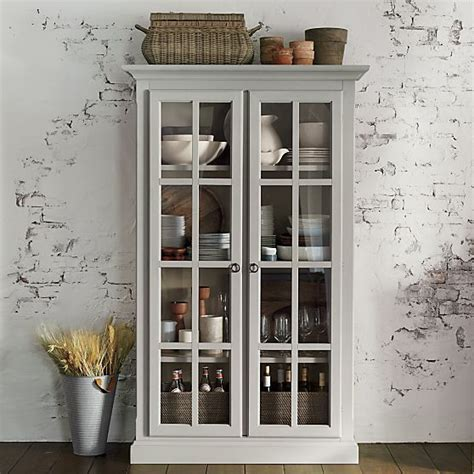 crate and barrel china cabinet vitrine cabinet crate and barrel grey wood cabinets
