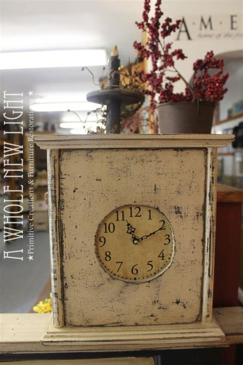 Handmade Primitives - 7 best images about clock on clock faces