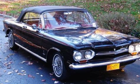 Hp Kalibre 920421 1 sell used cheverolet corvair convertible black with interior new gararge kept in