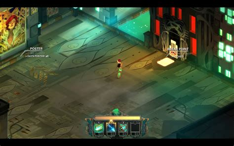 transistor gameplay time transistor review gizorama