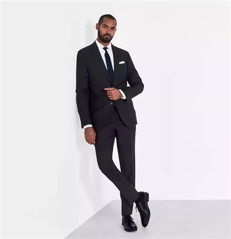 black suit tie hardon clothes