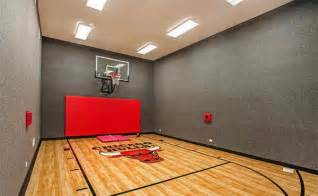 Bedroom Mural Ideas 15 ideas for indoor home basketball courts home design lover