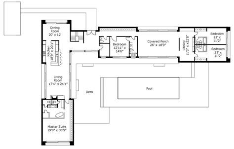 Modern Contemporary Ranch House U Shaped House Plans Australia Arts