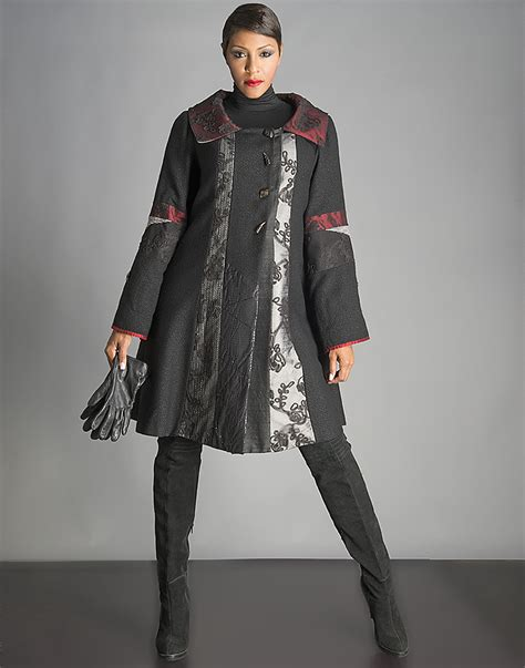 swing jackets from india el elyon global expressions coats multi texture