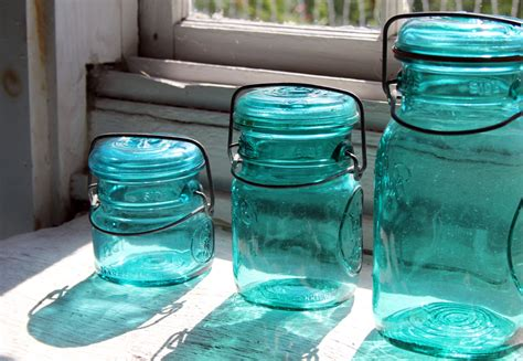 Vintage Glass Canisters Kitchen summertime and the living is different a good enough life
