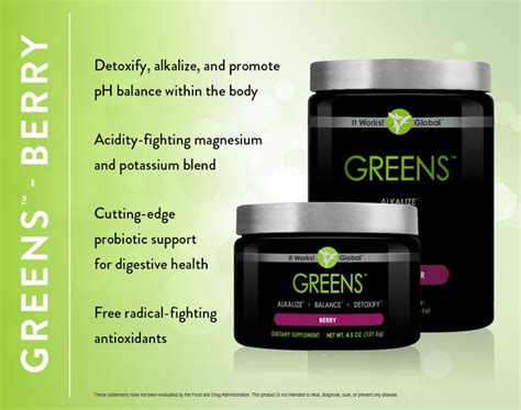 It Works 90 Day Greens Detox by 1000 Ideas About It Works Greens On It Works