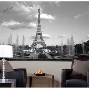 Eiffel Tower Wall Mural new eiffel tower large prepasted wall mural paris city