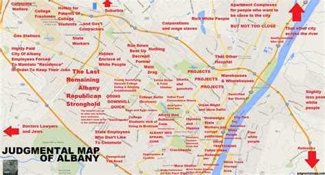 map albany ny judgmental map of albany information without the bun