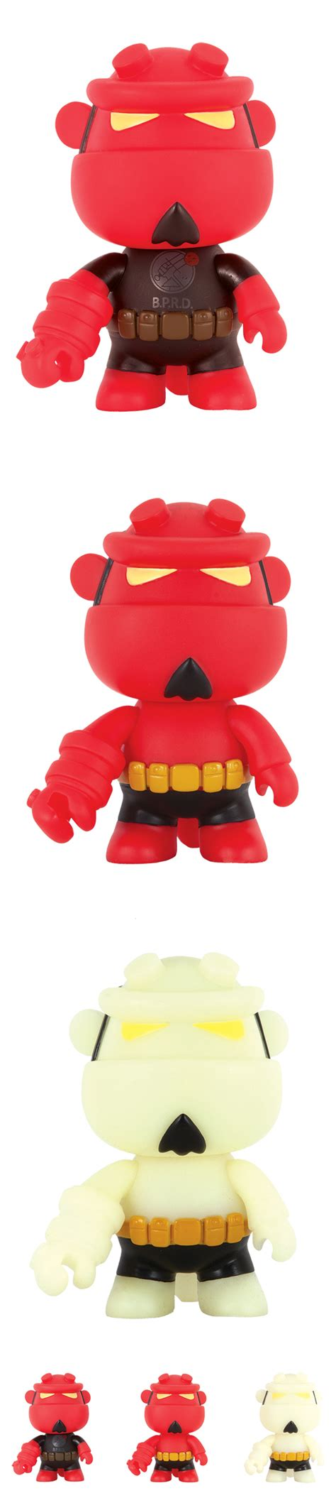 Hellboy Qee Collection Version Vinyl Figure figure insider 187 deluxe partners with