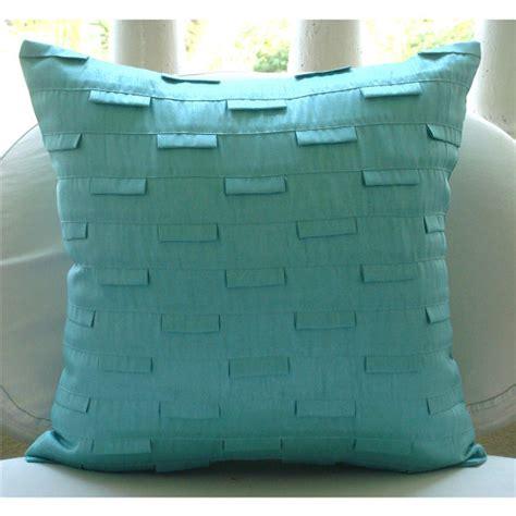 European Sham Pillow Covers by Blue Sham Covers 26x26 Inches Silk Sham
