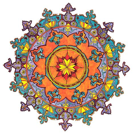Imagenes De Mandalas De La India   mandalas indios la belleza geom 233 trica viajar a la india